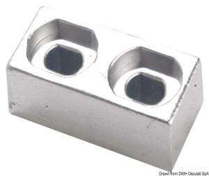 Piastrina alluminio 55/225 HP [Osculati]