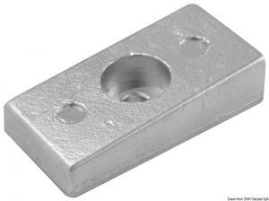 Anodo magnesio 75/225 mm 36x72 [Osculati]