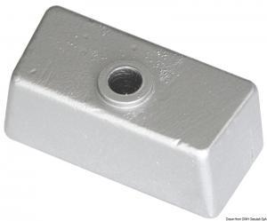 Anodo cubo per piede in magnesio [Osculati]