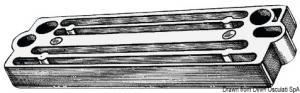 Anodo Tohatsu 60/225 HP alluminio [Osculati]