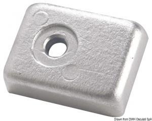 Anodo 40/50 HP 4 tempi alluminio [Osculati]