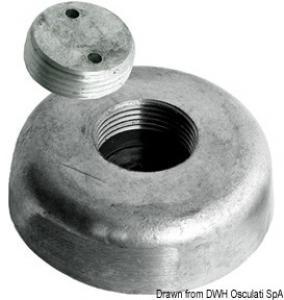 Anodo a scomparsa Ø mm 135 in magnesio [Osculati]