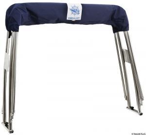 Roll-Bar con cappottina pieghevole 175x330 cm [Osculati]