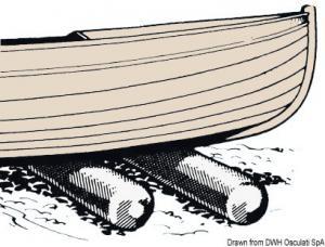 Rullo alaggio per varo scafi Roll Boats [Osculati]