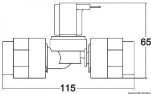 Elettrovalvola Tecma plastica 12 V [Tecma]