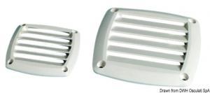 Griglia ABS grigia 85 x 85 mm [Osculati]