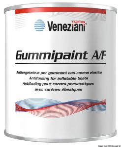 Antivegetativa Gummipaint nera 0,375 l [Veneziani]
