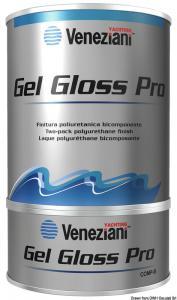 Smalto bicomponente Gel Gloss rosso [Veneziani]