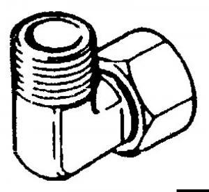 Raccordo per Pompe Ultaflex a 90°-3/8 (EF38) [Ultraflex]