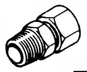 Raccordo per Pompe Ultaflex Diritto 3/8 (SF38) [Ultraflex]