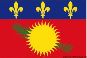 Bandiera Guadalupe 20x30 [Osculati]