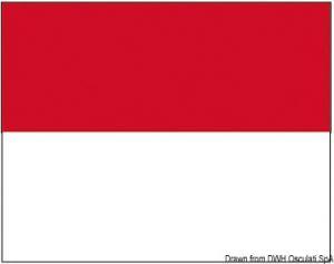Bandiera Monaco 50 X 75 cm [Osculati]