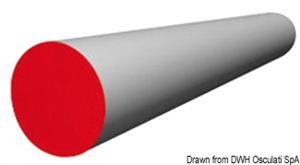 Stecca per vele e tendalini 16 mm x 6 m  [OSCULATI]