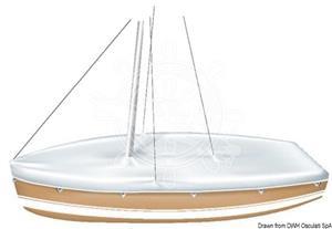 Telone per ricovero imbarcazioni per scafi a vela laser [TESSILMARE]