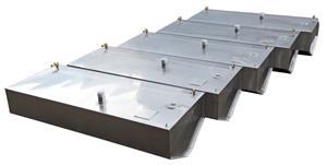 Serbatoio acqua lt.260 in acciaio inox per barca [TR Inox]