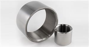 Manicotto in acciaio inox filettato 1/4 pollice (opaco)- AISI 304 [Tuttoinox]