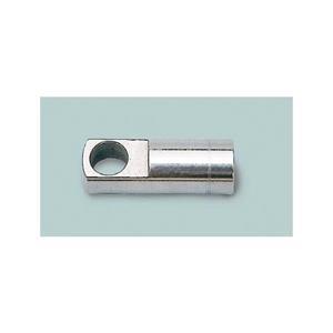Terminale ad occhiello in acciaio inox filettato diametro 9 [Mavimare]