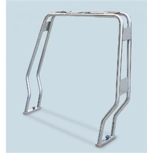 Roll bar ribaltabile in acciaio inox aisi 316 tubo diametro 25 sagomato [Mavimare]