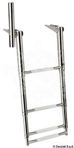 Scaletta 4 gradini con maniglia 345 mm [Osculati]