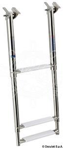 Scaletta telescopica da applicare sotto plancetta [Osculati]