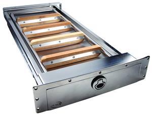 Scala sottoplancia con frontino 5 gradini modello standard [TR Inox]