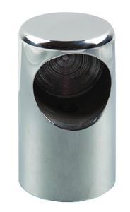 Bussolotto inox cieco per tubo Ø 22 [TR Inox]