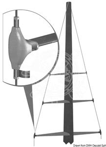 Coppia copricrocette 8 mm [Osculati]