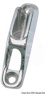 Strozzascotte inox 82x66x18 mm  [OSCULATI]