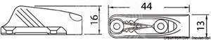 Strozzascotte CLAMCLEATS [Osculati]