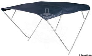 Capottina Bimini Depth 4 archi 225/235 cm blu [Osculati]