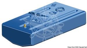 Serbatoio carburante/benzina in polietilene reticolato da 120 lt [OSCULATI]