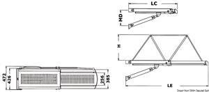 Passerella idraulica Bridge 30 12 V