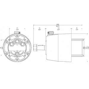 Pompa idraulica a 7 pistoni, capacità 32 cm³