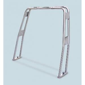 Roll bar ribaltabile in acciaio inox aisi 316 tubo diametro 50 [Mavimare]