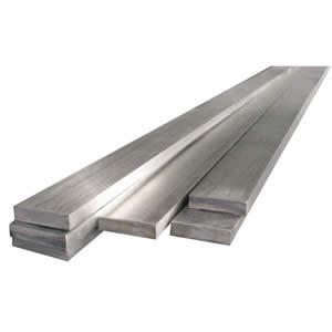 Piatto inox larghezza 50 mm spessore 6 mm (opaco) - AISI 304 [Tuttoinox]