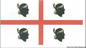 Bandiera Corsica 30 x 45 cm [Osculati]