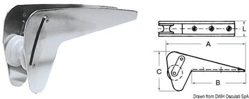 Musone speciale inox per Bruce/Trefoil max 20 kg  [OSCULATI]