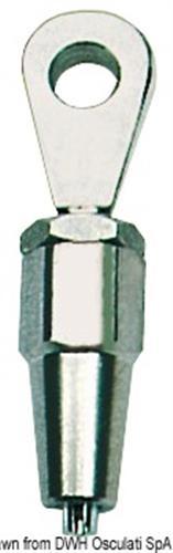 Terminale inox forcella  [OSCULATI]