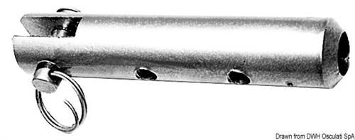 Terminale inox per draglia forcella  [OSCULATI]