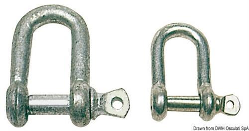 Grilli zincati a D 5 mm
