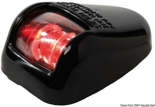 Fanale nero rosso 112 [OSCULATI]