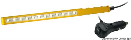 Luce LED ispezione/emergenza Slim  [OSCULATI]