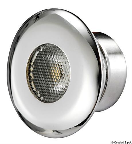 Micro plafoniera LED 1x1 W blu  [OSCULATI]
