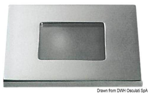 Plafoniera Sextans ottone cromato  [OSCULATI]