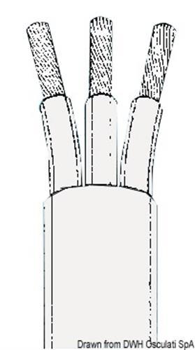 Cavo tripolare 1,5 mm [OSCULATI]