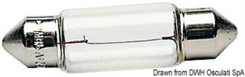 Lampadina a siluro 12 V 10 W  [OSCULATI]
