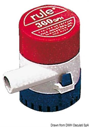 Pompa Rule mod.24 1400 l/h12V  [OSCULATI]