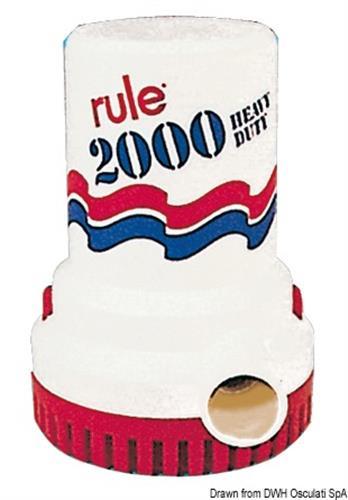 Pompa Rule 2000 12V 12Amp
