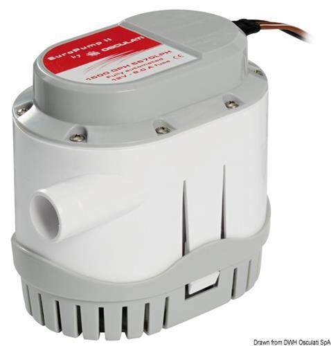 Europump II automatica 12V 96 lt/m  [OSCULATI]