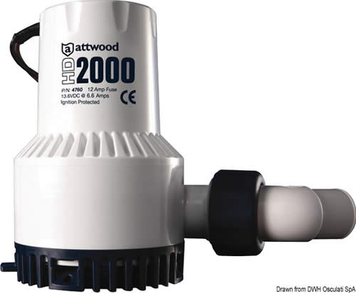 Pompa Heavy Duty 24V 5Amp  [OSCULATI]